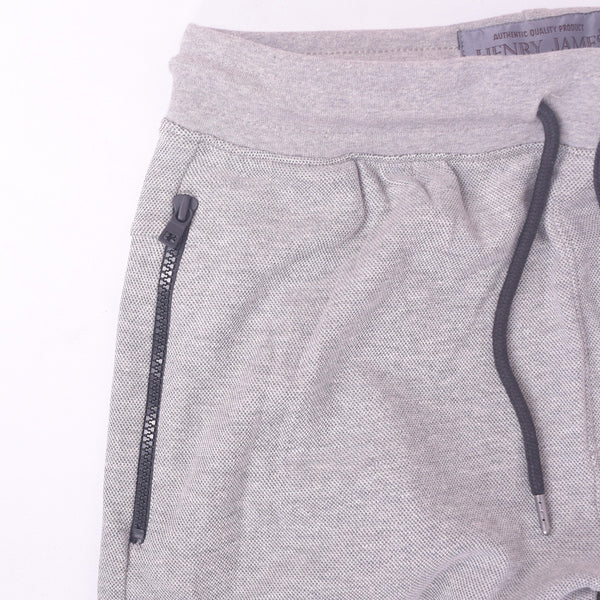 Men's Henry James Double Pocket Fleece Jogger - Grey Marl - klashcollection - 4