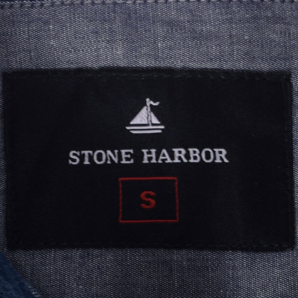 "Men's ""Stone Harbor"" Two Pocket Denim Casual Shirt - klashcollection - 3"