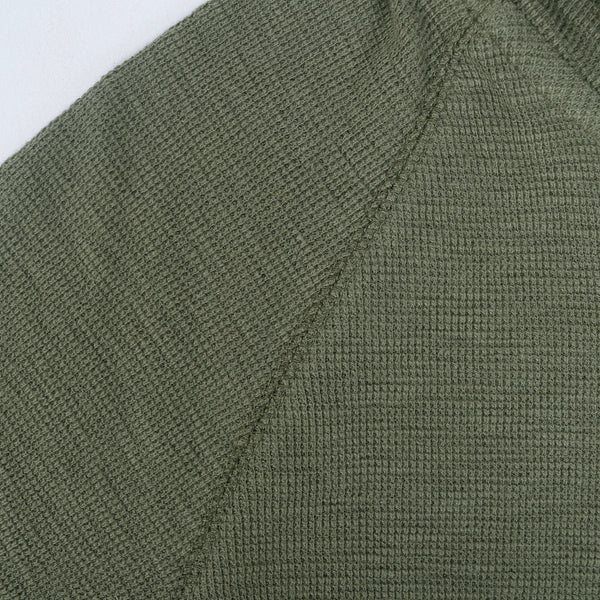 Men's Henry James Kangaroo pocket hoodie - Khaki Green - klashcollection - 3