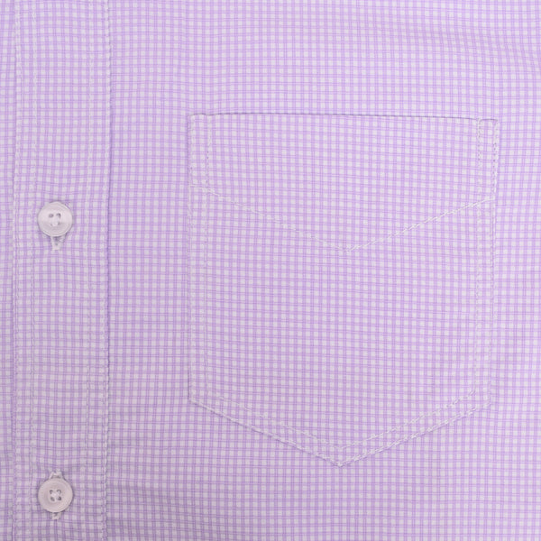 Copy of Men's Stone Harbor Single Pocket Casual Shirt - Light Purple - klashcollection - 3