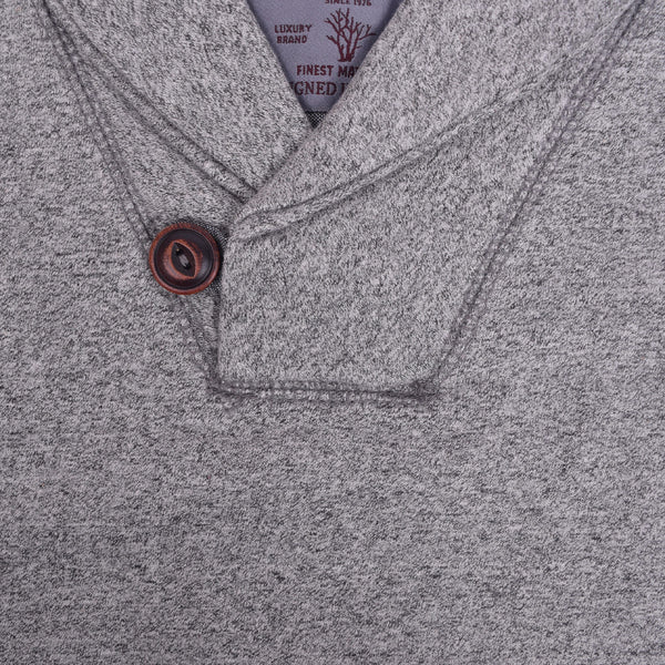 Men's Henry James Shawl neck Jacket - Grey - klashcollection - 3