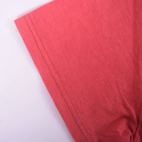 Men's Henry James Horizon Red Textured Pocket Signature T-Shirt - klashcollection - 3