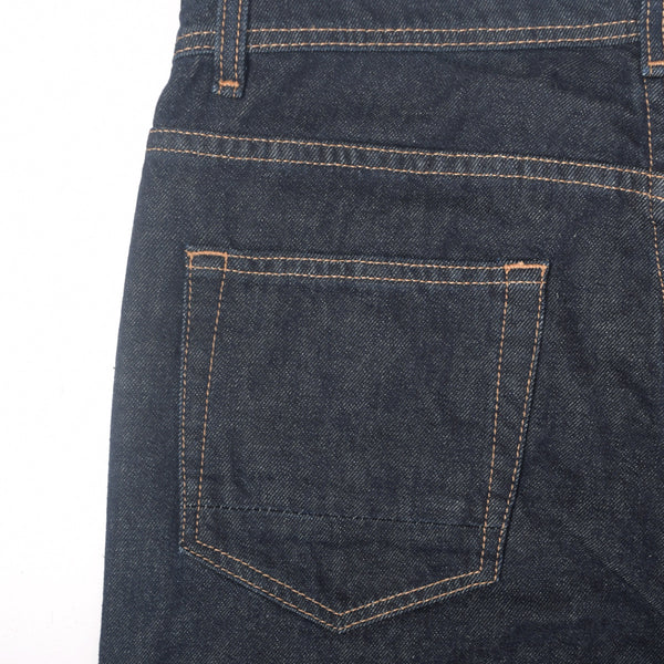 "Men's ""Dressmann"" Five Pocket Midnight Streight Fit Denim - klashcollection - 3"