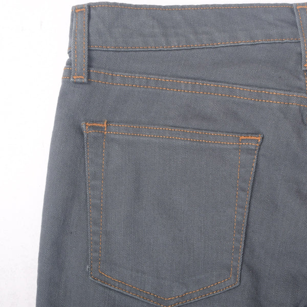"Men's ""Chelsea Peer"" Charcoal five pocket Slim Fit Stretch Denim - klashcollection - 3"