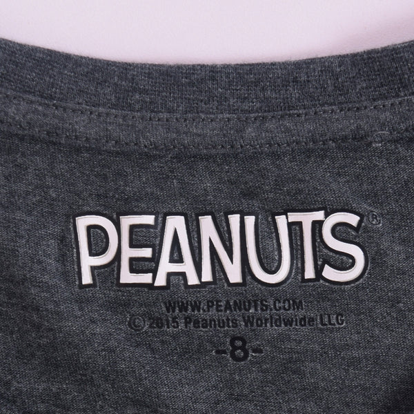 Women's Peanuts Boat Neck Short sleeve Graphic T-shirt - klashcollection - 3