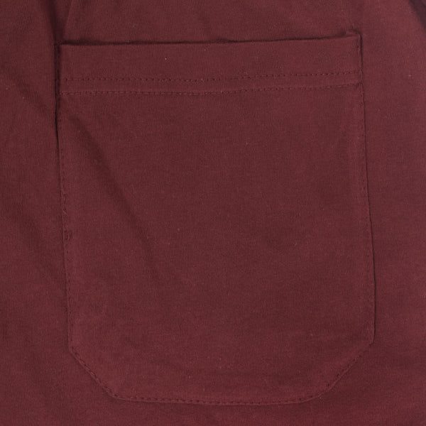 Men's Henry James Super Soft Solid Loungewear Trouser - Burgundy - klashcollection - 4