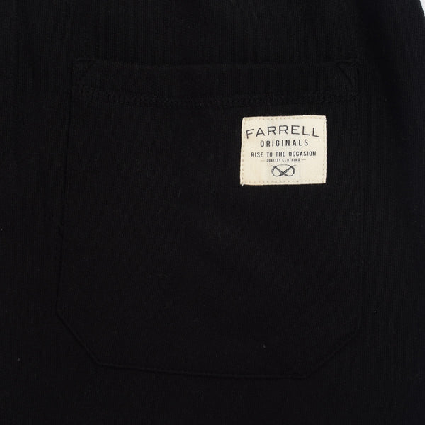 Men's Henry James Farrell Applique Trousers - Jet Black - klashcollection - 4