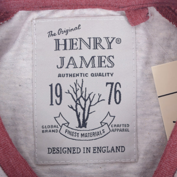 Men's Henry James Raglan Sleeved T-Shirt with Left Chest Print - klashcollection - 4