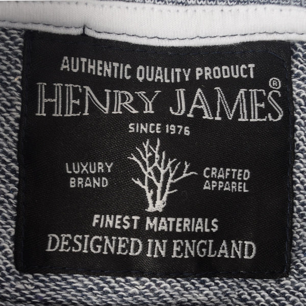 Kid's Henry James Superior Quality Slogan Printed Sweat - Denim Blue - klashcollection - 4