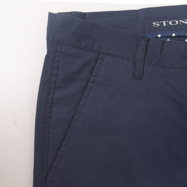 "Men's ""Stone Harbor"" Slim fit Cotton Chino Pant - Executive Navy - klashcollection - 4"