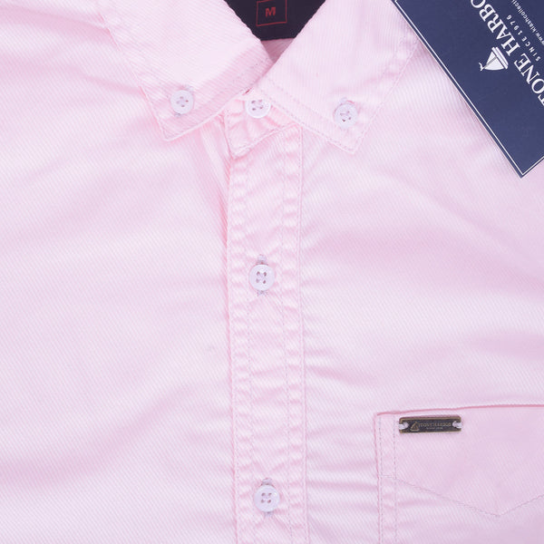 Copy of Men's Stone Harbor Double Pocket Hilton Casual Shirt - Light executive Pink - klashcollection - 4