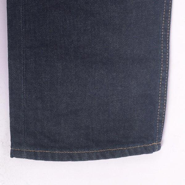 "Men's ""Dressmann"" Five Pocket Midnight Streight Fit Denim - klashcollection - 4"