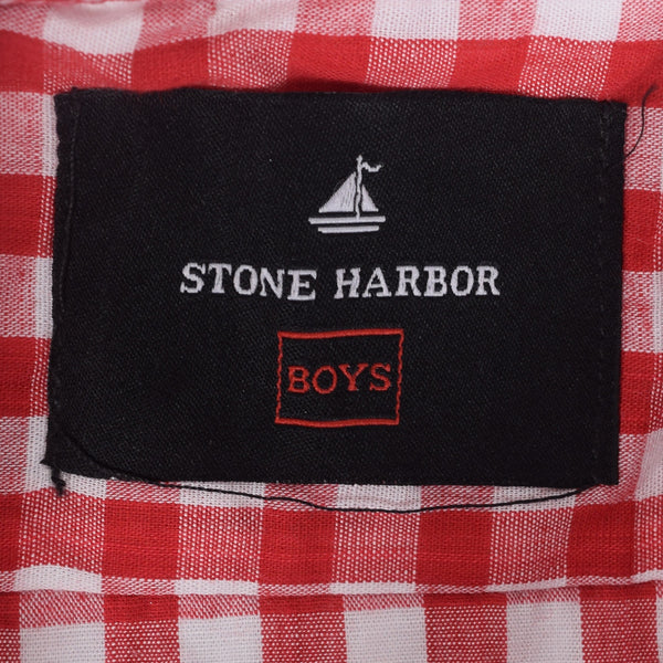 Copy of Kids Stone Harbor Hilton Casual shirt - Red/White - klashcollection - 4