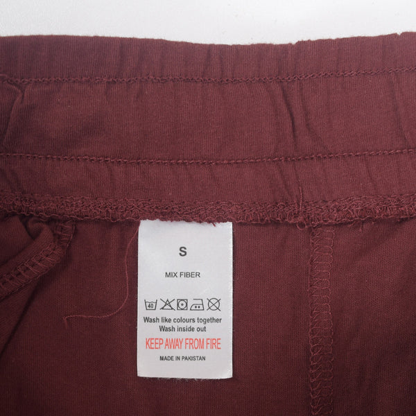 Men's Henry James Super Soft Solid Loungewear Trouser - Burgundy - klashcollection - 5