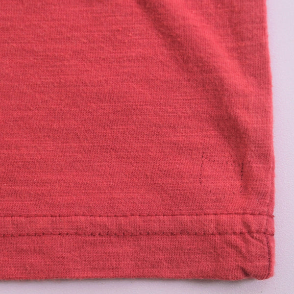 Men's Henry James Horizon Red Textured Pocket Signature T-Shirt - klashcollection - 5