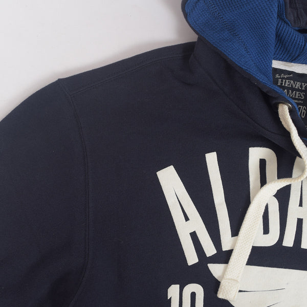 Copy of Men's Henry James ALBANY Pullover Graphic Hoodie - Dark Navy Blue - klashcollection - 3