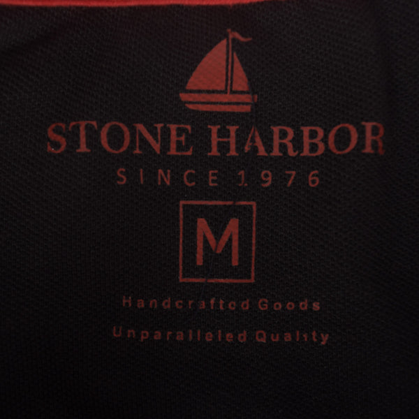 Men's Stone Harbor Contrast Placket Muscle Fit Signature Polo Shirt. - klashcollection - 6