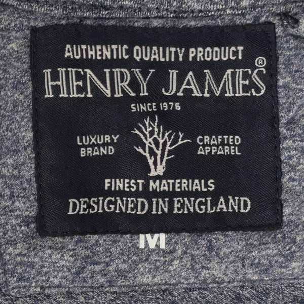 Men's Henry James Pull over Hoody - Denim Marl - klashcollection - 5