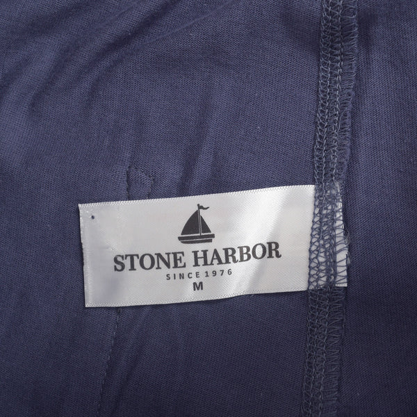 Men's Stone Harbor Solid Lounge wear Trouser - Navy - klashcollection - 5