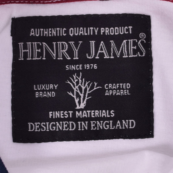 "Kid's Henry James ""53"" printed crew neck T Shirt - White"