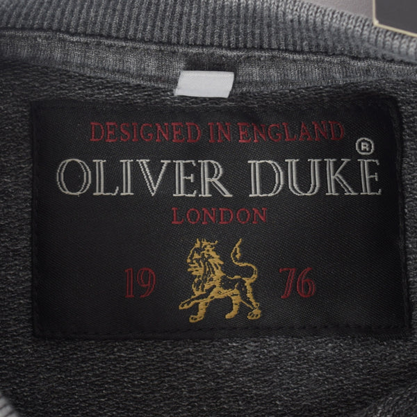 Kids Oliver Duke Rotary Printed Pigment dyed sweat - Dark Grey - klashcollection - 5