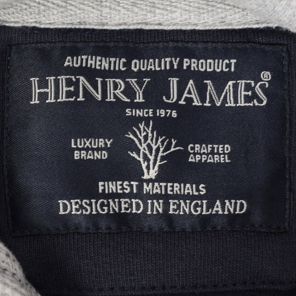 Men's Henry James AUSTIN TEXAS Pullover Graphic Hoodie - Navy Marl - klashcollection - 5