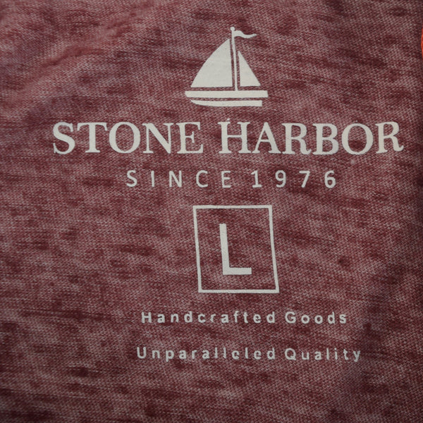 "Men's Stone Harbor Micro Soft ""Happy Human""  Crew Neck T-Shirt - klashcollection - 5"