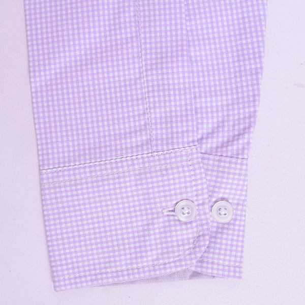 Copy of Men's Stone Harbor Single Pocket Casual Shirt - Light Purple - klashcollection - 5