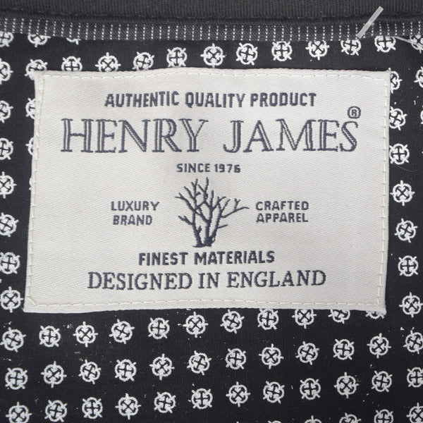 Men's Henry James White Pocket Polo with Gingham Doted Trims - klashcollection - 5