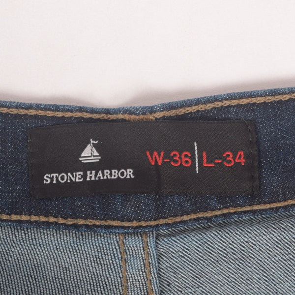 Men's Stone Harbor Vintage Wash Straight Fit Light Weight Denim - klashcollection - 6