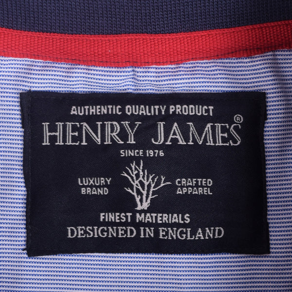 Men's Henry James Twin Striped Polo Shirt - klashcollection - 4