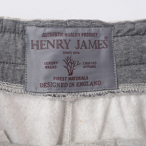 Men's Henry James Closed bottom Athletic Slim Fit Ripple Jogger - Grey Marl - klashcollection - 6