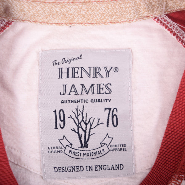 Men's Henry James Raglan Sleeved Slub T-Shirt - klashcollection - 6