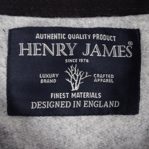 Men's Henry James Long Sleeve Sweatshirt - Textured Navy - klashcollection - 6