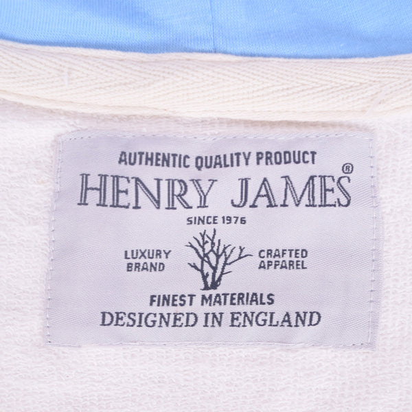 Women Henry James French terry zip through semi winter Hooded - Off White - klashcollection - 6