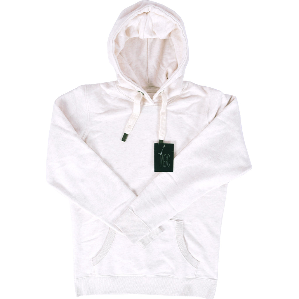 Women's TAGG Super Soft Pull Over Hoodie - Offwhite Marl - klashcollection - 1