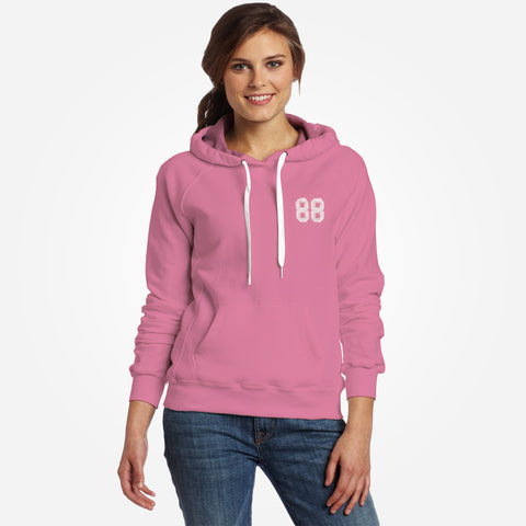 Women TAGG 88 Over Head Hooded - Peach Pink - klashcollection - 1