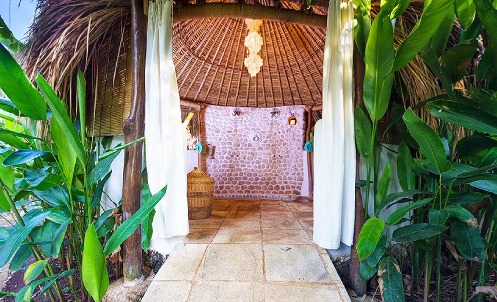 Mu Resort, Best Outdoor shower in Bukit Penninsula Bali