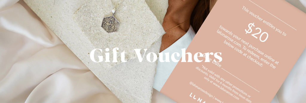 Gift Vouchers from Luna and Rose