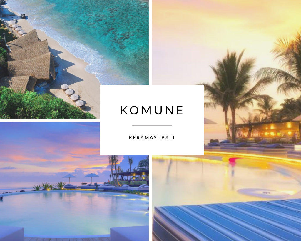 Komune Beach Club in Bali, Keramas
