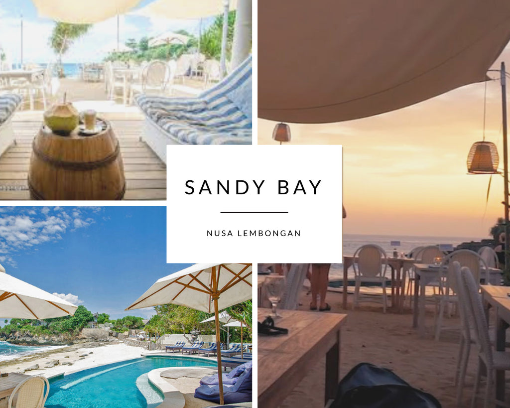 Sandy Bay Nusa Lembongan Island - Best Beach Clubs on Bali