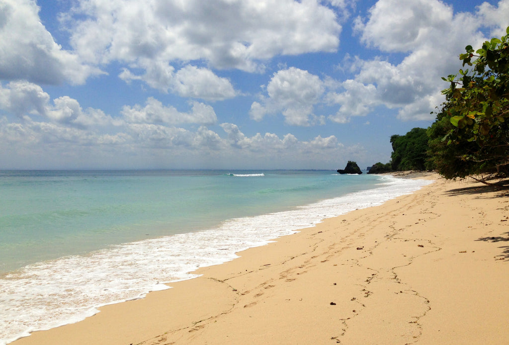 Bali Beach Bucket List - Thomas Beach on the Bukit Peninsula in South Bali