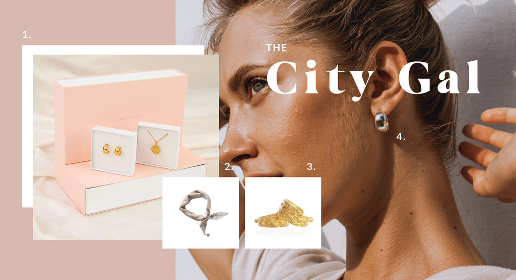 Sustainable Gift Ideas for the City Gal - Luna and Rose jewellery