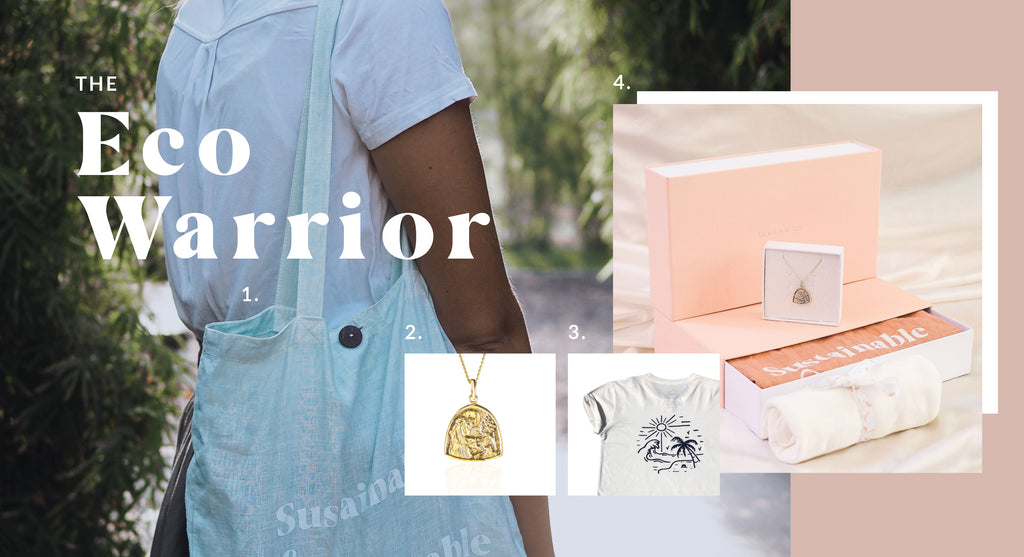 Sustainable Gift Ideas for the Eco Warrior - Luna and Rose jewellery
