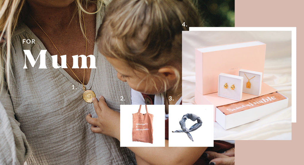 Sustainable Gift Ideas for Mum - Luna and Rose jewellery