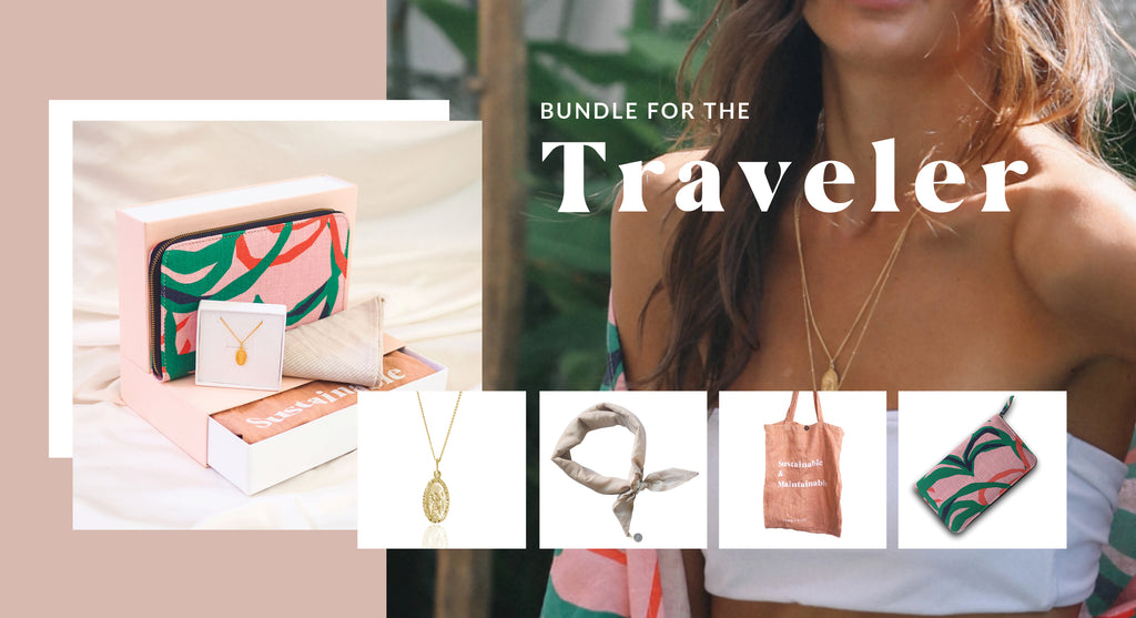 Luna & Rose Sustainable Gift bundle for the Travel lover