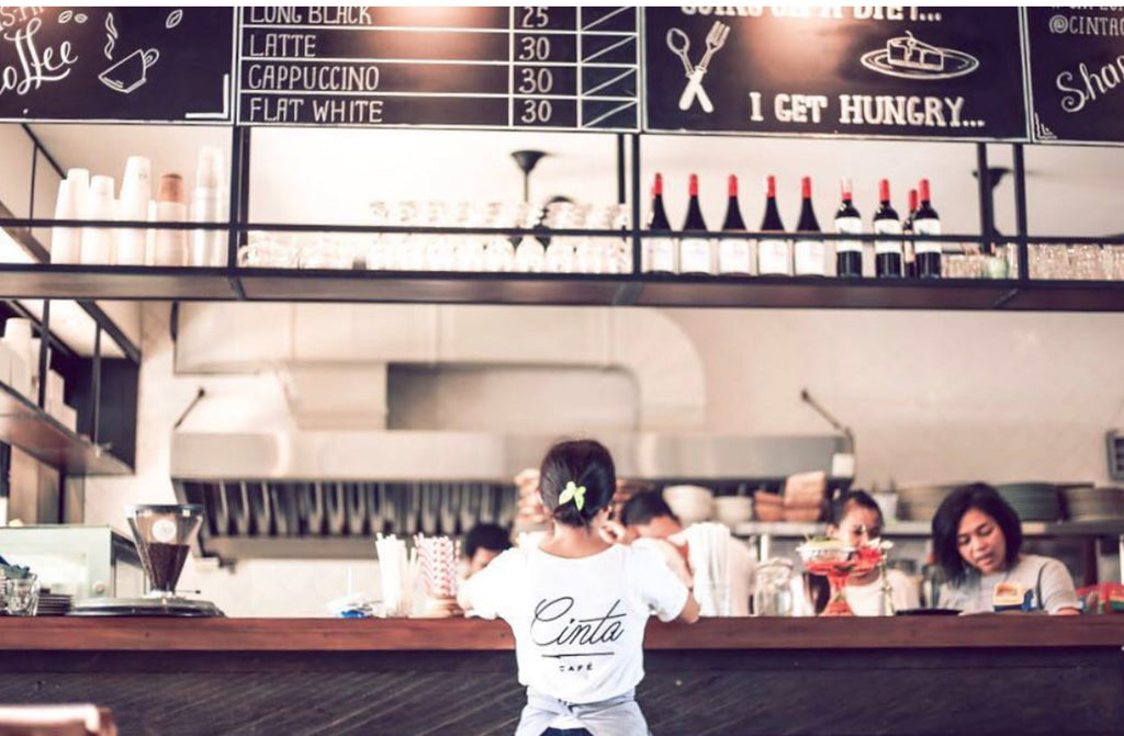 Bali Best Eats : Cinta Cafe Berawa Bali Coffee on the island