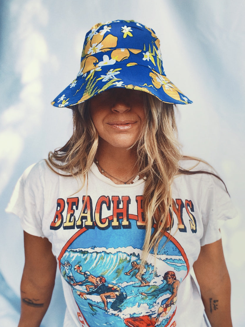 Luna & Rose x Goldfish Kiss Bucket hats