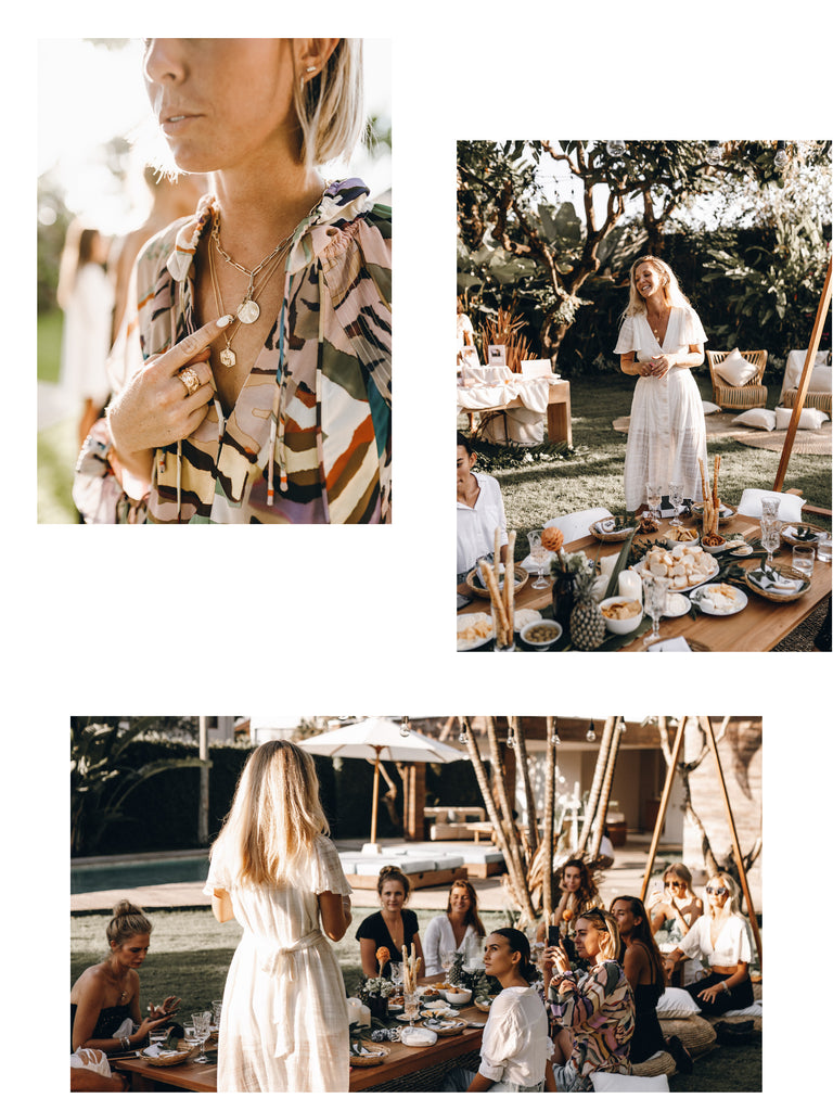 Luna and Rose Boho Picnic Launch Event, Bali