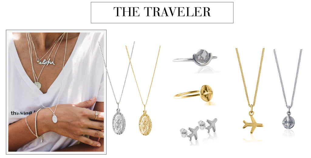 Christmas Gift Guide - Jewellery for a girl who loves to Travel